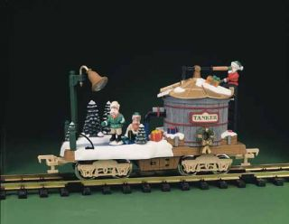 New Bright Holiday Express Skating Tank Car —