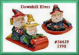 Downhill Elves NEW Department Dept. 56 North Pole Village D56 NP