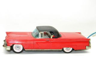 Antique CRAGSTAN Lincoln Continental Mark V Battery Operated Vintage