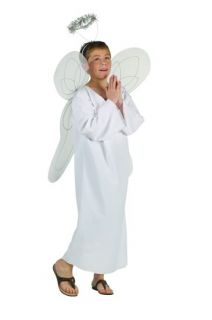 HEAVENLY ANGEL BOY COSTUME RELIGIOUS BIBLE CHILD CHERUB COSTUMES 90006
