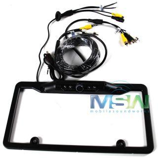 Crimestopper® SV 5420.IR 180° Black License Plate Frame CMOS Color