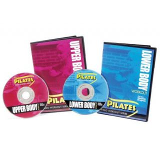 Pilates Upper and Lower Body Workout DVD ComboSet —