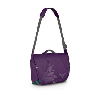 Osprey Flapjill Courier One Size Plum Purple Womens Laptop Backpack