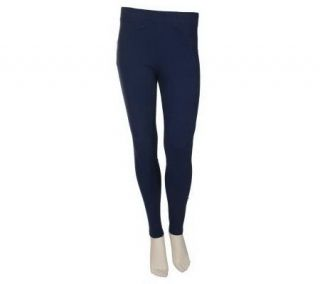 Sport Savvy Essentials Stretch Knit Full Length Legging —