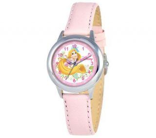 Disney Kids Rapunzel Time Teacher Leather BandWatch —