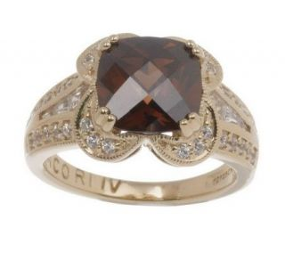 Tacori IV Diamonique Epiphany Gemstone Ring —