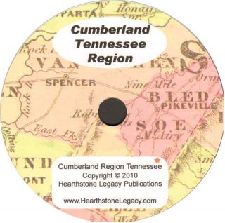 Crossville Tennessee Genealogy Cumberland County TN