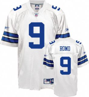 Dallas Cowboys Tony Romo 9 Premier Home Football Jersey