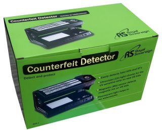 New Royal Sovereign Counterfeit Fake Bill Detector Cash Money ID