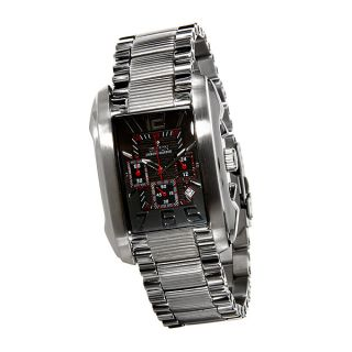 Croton Mens Watch ChronoMaster FLEX ROLL BAR Feature Stainless Steel