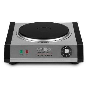 Waring Electric Countertop Hotplate Plate Warmer Heater Single Burner