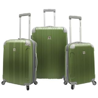Beverly Hills Country Club Malibu 3 Piece Hard side Spinner Luggage