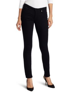 Kenneth Cole New York Womens 30 x 33 Slim Fit Jeans Low Rise Black $79