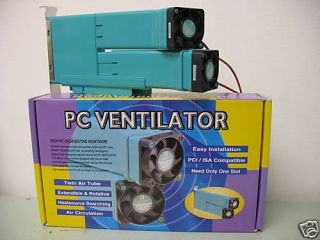 PC Cooling Device PC Ventilator New Concept