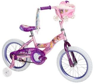 Disney Princess Hearts and Crowns 16 Huffy Girls Bicycle with Doll
