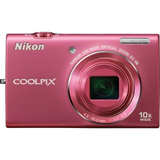 what s in the box nikon coolpix s6200 digital camera pink camera strap