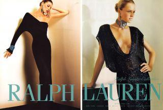 2004 Ralph Lauren Valentina Zelyaeva 5 PG Magazine Ad
