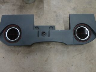 Custom fit, Underseat Crutchfield Subwoofer box with Rockford Fosgate