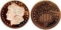 20 1oz 4 x 5 Designs 999 Fine Copper Bullion Rounds