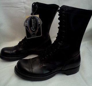 Corcoran 1500 10 Leather Combat Jump Boots SZ 7 5 D USA Made MEN WOMEN