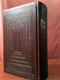 Holy Catholic Family Confraternity Bible Leather 1953