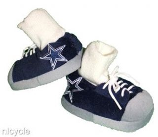 Dallas Cowboys NFL Baby Sneaker Slippers with Real Laces Small s 0 3
