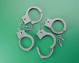 12 Cowboy Sheriff Handcuffs Dozen Kids Birthday Theme Party Favors