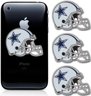 Dallas Cowboys Helmet NFL Football Cell Phone Decal Sticker