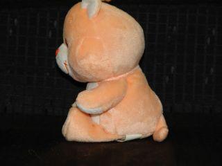 RARE 2003 Proud Heart Cat Care Bear Cousin Plush Toy 8