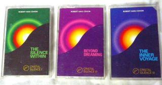 Silence Volumes 1 3 Robert Haig Coxon 1994 1999 3 Cassettes