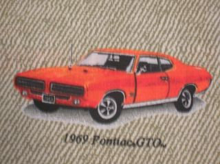 New Pontiac GTO Fabric BTY Muscle Car Hot Rod Classic