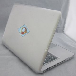 11 Colors Glossy Crystal Hard Case Cover Shell Cutout Apple MacBook