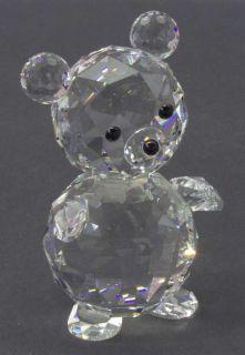 manufacturer swarovski crystal pattern figurine piece giant bear size