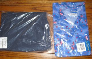 NIP Crest Scrub Top and Cargo Scub Pants Sz 3XL