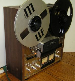 Sony TC 758 TC758 Open Reel to Reel Tape Recorder Nice