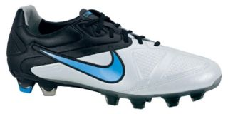 Nike CTR360 Maestri II FG Sz 6 Mens Soccer Cleats Black White Blue