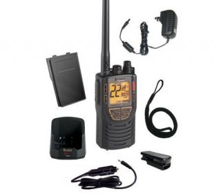 Cobra MRHH425LIVP Combination VHF/GMRS with Rewind Say Again   E200422