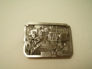 1987 Case Beltbuckle Limited Edition Case International Case Tractor