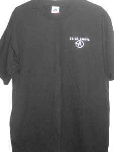 luxor las vegas criss angel logo men s shirt l