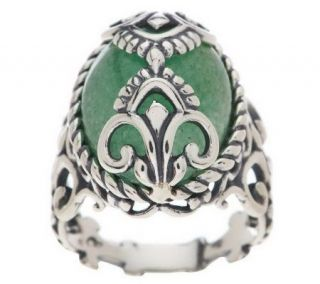 Carolyn Pollack Crowning Accents Sterling Ring   J266099