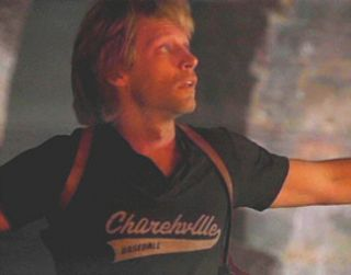 Jon Bon Jovi Black T Shirt from the film VAMPIRES LOS MUERTOS