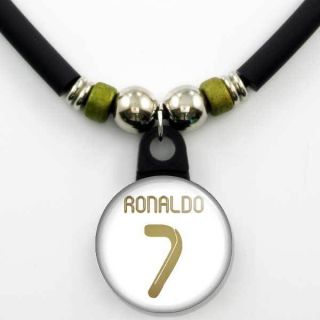 Cristiano Ronaldo 7 Real Madrid 2011 12 Home Jersey Necklace NEW
