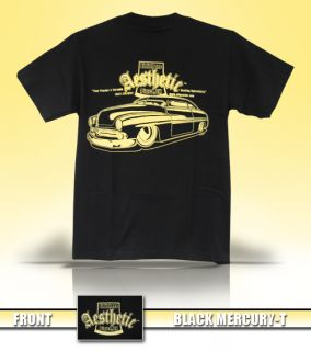 Aesthetic Finishers Black Mercury Hot Rod T Shirt