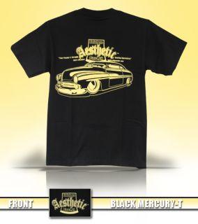 Aesthetic Finishers Black Mercury Hot Rod T Shirt