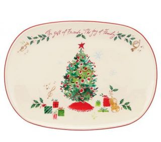 Lenox Holiday The Gift of Friends, The Joy ofFamily Platter   H363889