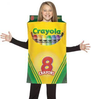 Crayola Crayon Box Kids Unique Funny Halloween Costume