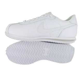 Nike Wmns Cortez Leather White White Grey Womens US Size 7 5 UK 5