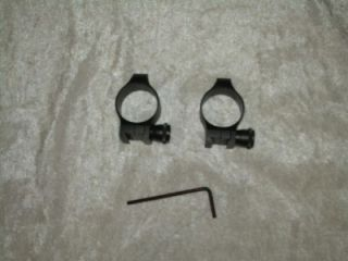 New Old Stock Warne Quick Detachable Scope Rings Mounts for 98 Mauser