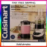 Cuisinart SmartPower Duet Blender Food Processor Chrome Fast Free