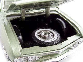 1969 Chevrolet Corvair Monza Green 1 18 Diecast Model
